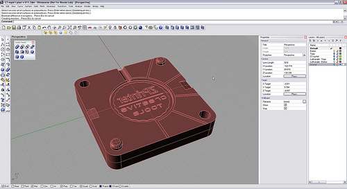 CreativeTools.se – ZPrinter-created plastic injection mold ten