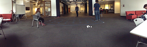 Fast Physical Game Design & Prototyping. Large experiential games developed collaboratively.