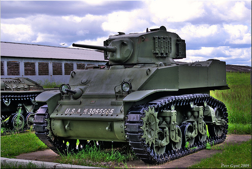 M5A1 (Stuart VI) Light Tank. 1941- 43.