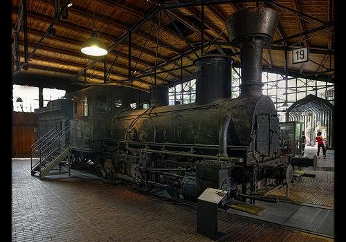Berlin – Deutsches Technikmuseum Berlin – Österreichischen Südbahn 1860 Baureihe 23 01